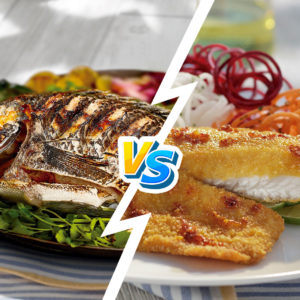 Filete vs pescado entero